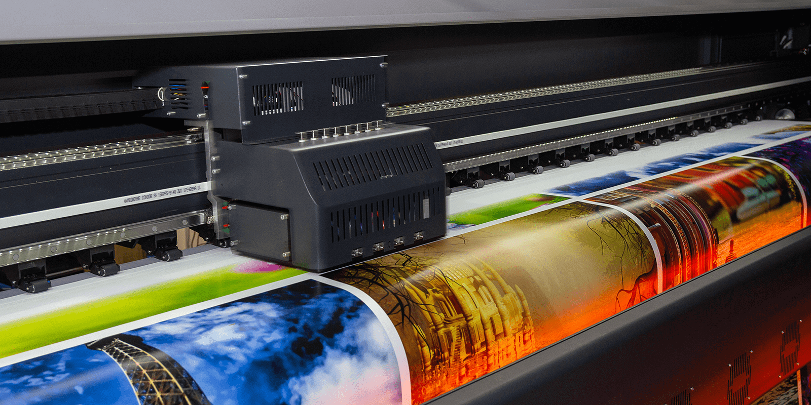 Plotter printing, representing IT Divestiture for a Printing Technology company
