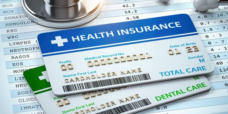 Health insurance cards for insurance automation verification process