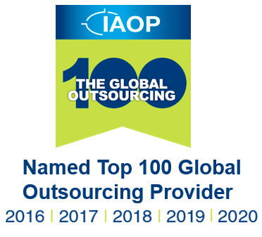 Auxis has been named Top 100 Global Outsourcing Provider in 2016, 2017, 2018, 2019, & 2020