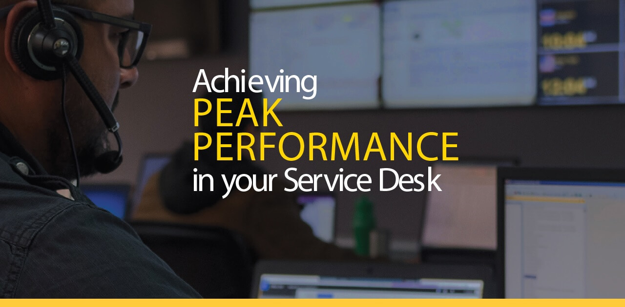 Peak Performance Service Desk