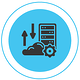 Graphic of cloud computing settings