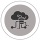 Graphic of cloud environment