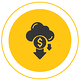 Graphic with the icon of dollar sign