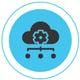 Graphic of cloud management