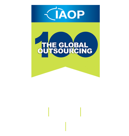 Top 100 global outsourcer logo