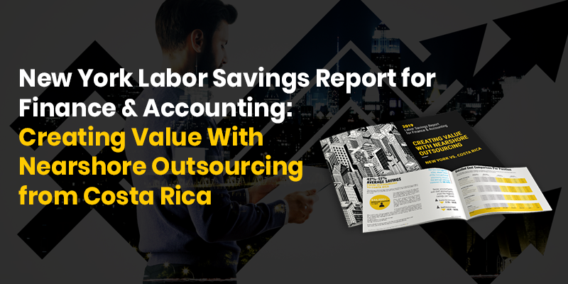 Preview of Auxis' NYC Finance Outsourcing Labor Cost Savings report: Creating Value with Nearshore Outsourcing from Costa Rica
