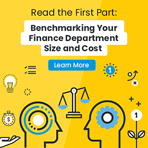 Invitation to read the first blog part: Benchmarking Your Finance Department Size and Cost