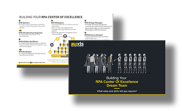 Guide to Building an RPA Center of Excellence