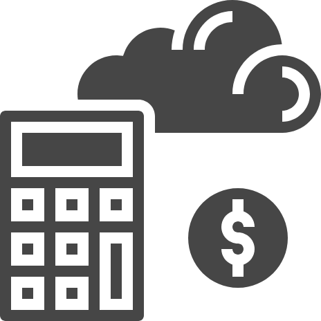 A calculator, a coin and a cloud icon: Experts in aligning cloud strategy to business strategy