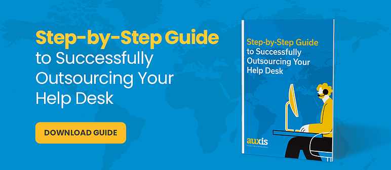 Download banner: Step-by-step Guide to Successfully Outsourcing your Help Desk