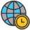 World map icon, Help Desk Outsourcing Location Strategy #2: Does regional support make better sense?