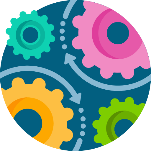 Four gears icon: Increased flexibility & scalability.