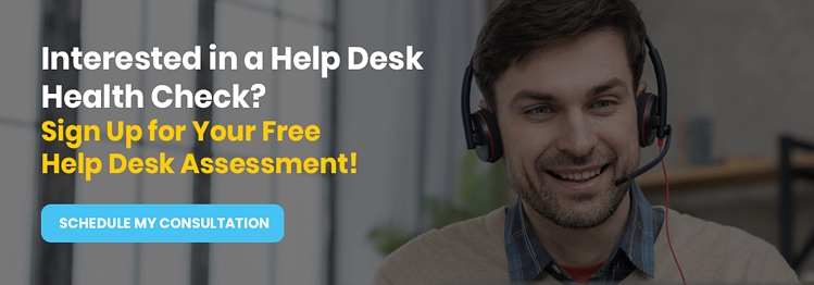 Invitation to schedule a consultation: Interested in a Help Desk Health Check? Sign Up for Your Free Help Desk Assessment!