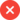 Cross mark icon: Lack of capacity to handle  unexpected or unscheduled payments.