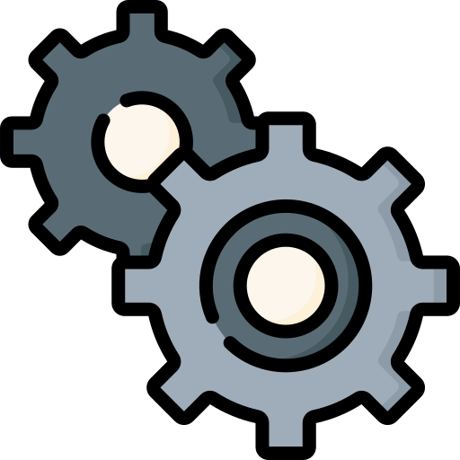 Two gears icon: Scaling up after DevOps support.