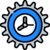 A gear clock icon: Minimal business disruption after the IT divestiture