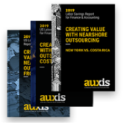 Report titled: Outsourcing your Accounting and IT Operations from US to Costa Rica with Auxis