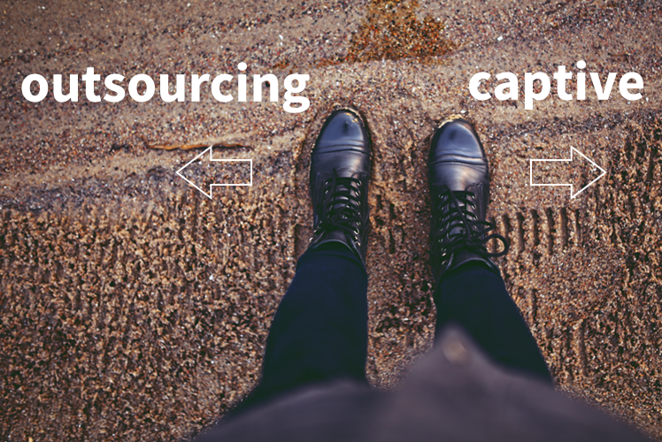 Outsourcing vs. Captive Shared Services: Which Model is Right For You?