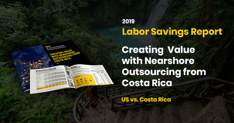 Auxis Unveils the Results of its 2019 US Finance & Accounting Outsourcing Report Highlighting Labor Savings as High as 50% from Nearshoring to Costa Rica