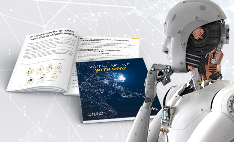 "Auxis Announces New Findings of 2018 Robotics Process Automation Study: ""Where Are We With RPA?"""