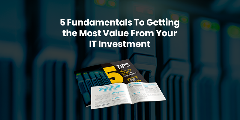 Read Auxis' Guide to Start Managing IT for Business Value